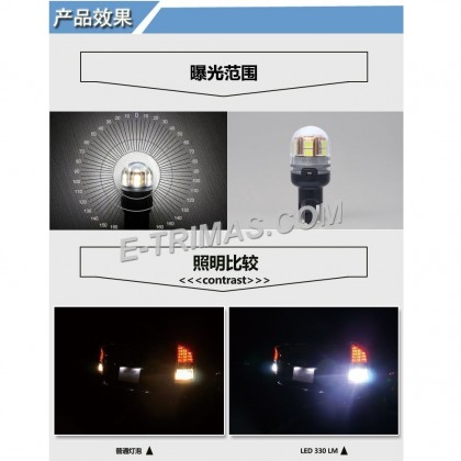 ORIGINAL TRILUX T15 T16 921 925 LED Indicator Signal Brake Bulb 10-30V 6500K