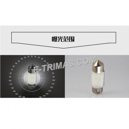 ORIGINAL TRILUX LED Indicator Dashboard Festoon Room Bulb C5W 10X31MM 6500K