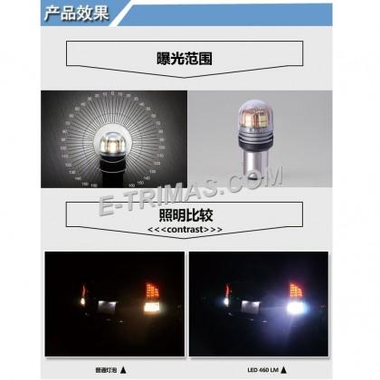 ORIGINAL TRILUX S25 1016 LED Brake Light Bulb BAY15D 10-30V 6500K