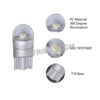 ORIGINAL TRILUX T10 W5W 4090 LED Indicator Dashboard Bulb 10-30V 6500K