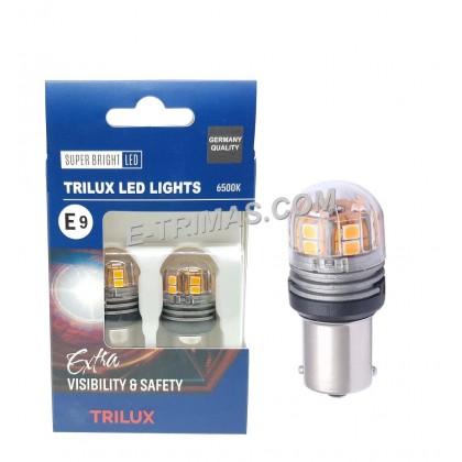 ORI TRILUX S25 LED Indicator Signal Reverse Bulb Amber BAU15S 10-30V 6500K SLOPE