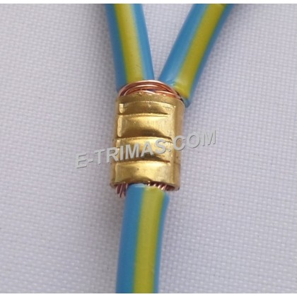 608002 U Type Splice Terminal Clip Connection Wiring Connector (10PCS)