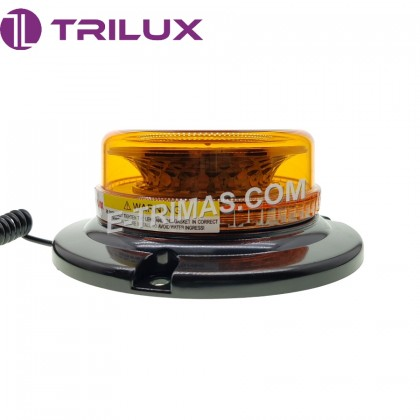 30 Bright LED Mini Emergency Warning Strobe Rotating Beacon Tractor Light