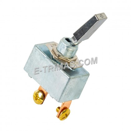 2 Pin 35 Amp Heavy Duty Toggle Switch ON-OFF SPST