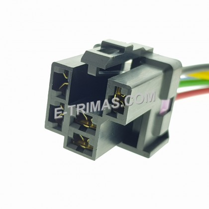 25230-C9905 Relay Holder Socket Connector 5 Pin