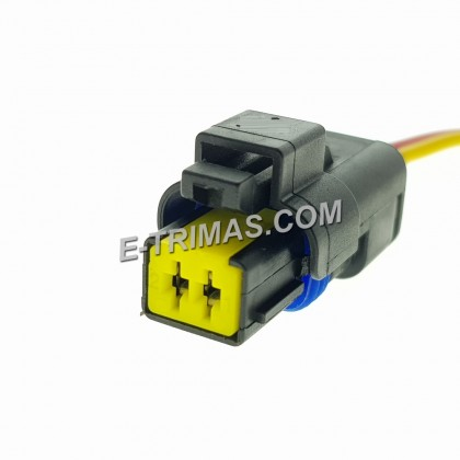 Ford Focus 4S4Q9D995BA Coolant Temperature Sensor Socket Connector