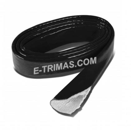 Flexible Silicone Fiberglass Sleeving Black Heat-Shielded Fire Sleeve (5M)