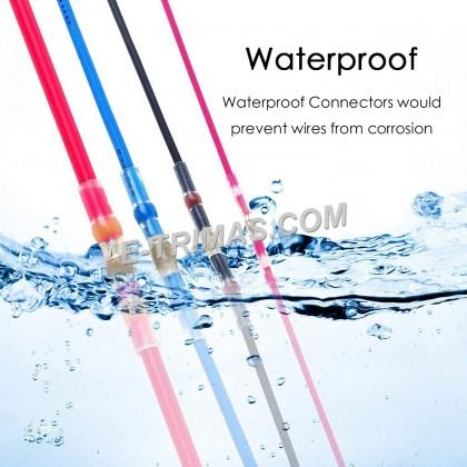 Heat Shrink Waterproof Solder Sleeve Butt Insulated Terminal Connector (10PCS)