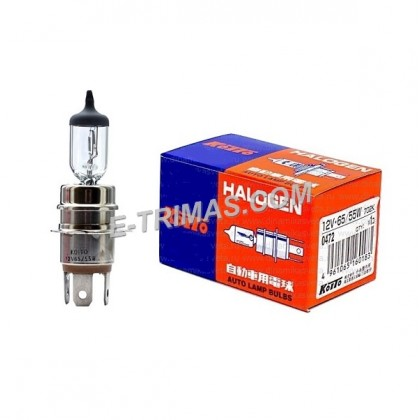 ORIGINAL Koito-0472 H4A 702K 65W/55W Auto Halogen High Low Beam Head Light Bulb