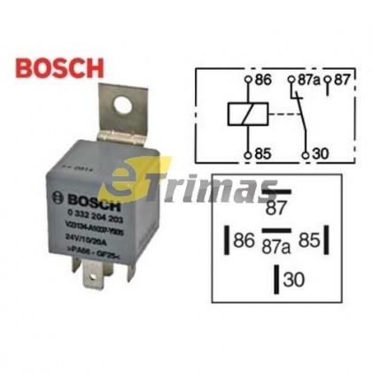 0332204203 Bosch Portugal Main Current Multi Purpose Relay 24V