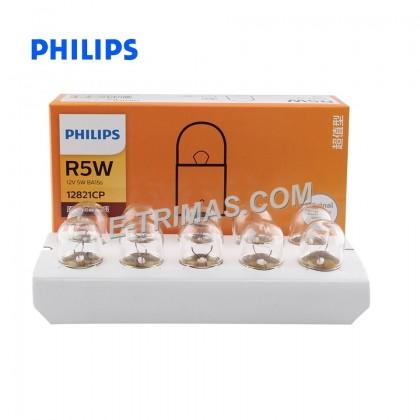 12821CP Genuine Philips Signal Bulb R5W (2PCS)