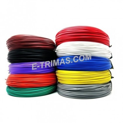 15 AWG Automotive Gauge PVC Car Cable Wire  AWG15  (10M)
