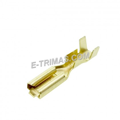 HX1974 Electronic Female Terminal Clip Contact with Locking Tab (10PCS)