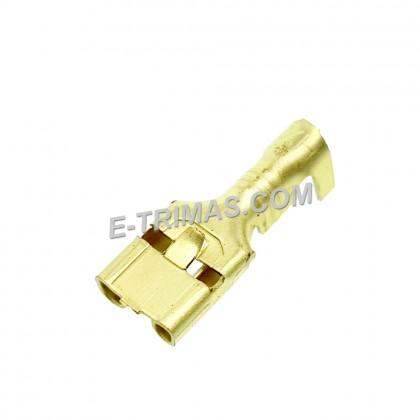 HX3556 Hong Xuan Automotive Wire Brass Terminal Clip (10PCS)