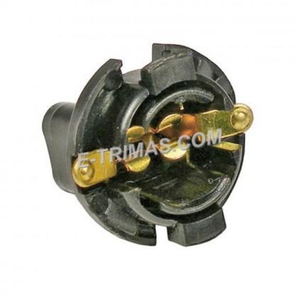 "4090 T10 Bulb Holder Instrument Panel Cluster Socket Base 5/8"" Mounting"
