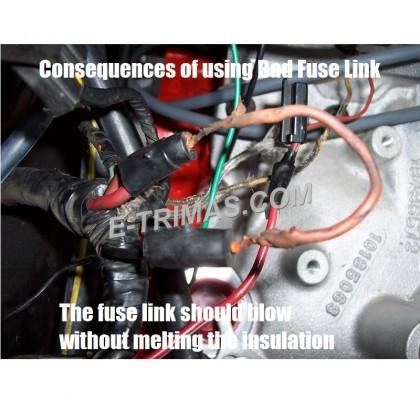 HX-8013 Lorry Truck Car Auto Modify Main Fuse Fusible Link