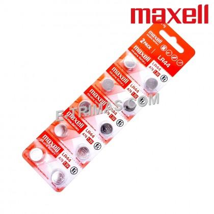 Maxell LR44 LR41 LR1130 AG13 AG3 AG10 Calculator Remote Control Battery (10PCS)