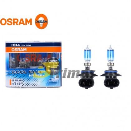 Osram CBH + Cool Blue Hyper Plus 5000K H1/H3/H4/H7/H9/H11 (1SET)