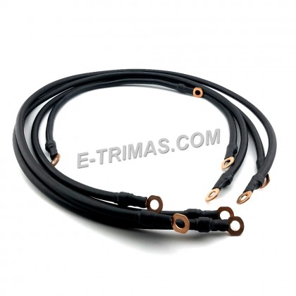 100% Malaysia Pure Copper Grounding Earth Cable Earthing Alternator Audio Wire 7GA