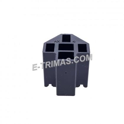 HX-3528 Universal 5 Pin Bosch Relay Socket Connector 0332-019-150 (5 PCS)