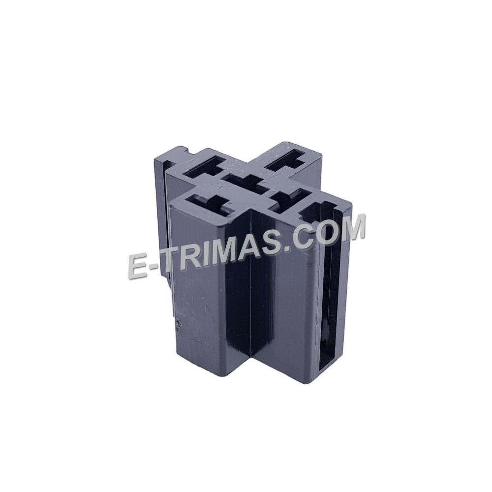 Universal 5 Pin Bosch Relay Socket Connector With Mounting