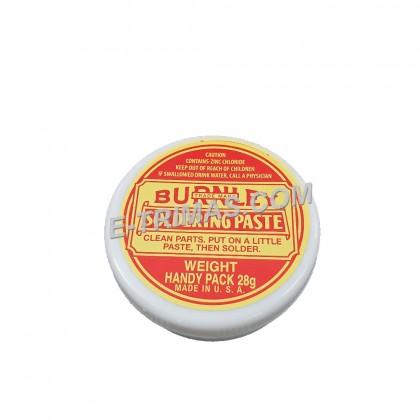 Genuine Burnley USA Soldering Paste Solder Flux High Intensity Welding Grease Hot