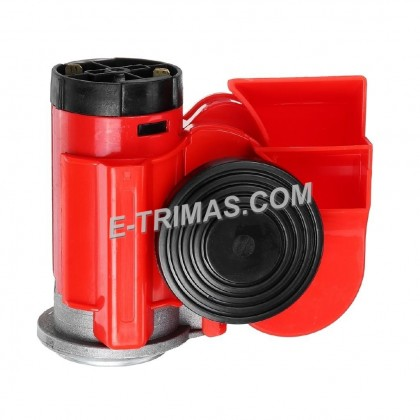 Compact Car Twin Tone Air Horn Snail Horn with Compressor 12V 24V