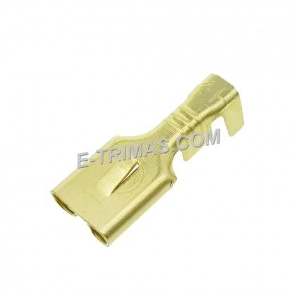 HX3555 HX2832 Non Insulated Copper Brass Terminal Wire Clip
