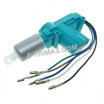 Wheels Type 5 Wires Proton Perodua Car Main Door Gun Actuator Central Lock 12V