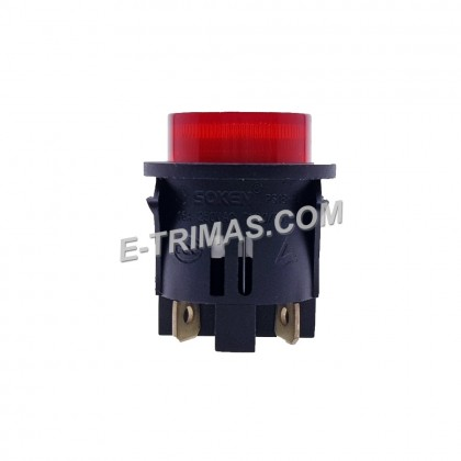 HX-1019 4 Pin On Off Latching Switch Big with LED Toggle Rocker Switch Supplier