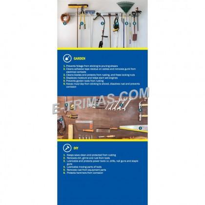 BIG CAN 412ML WD-40 Multi Purpose Use Product Anti Rust Lubricant Spray WD40
