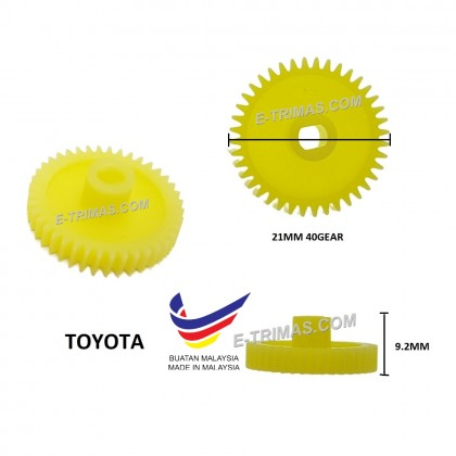 Auto Side Mirror Gear Toyota Honda Perodua Hyundai Kia Power Automatic