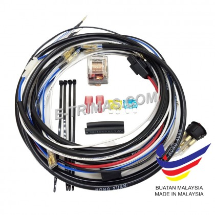 PNP Plug and Play Sport Light Wiring Harness Relay Wire Kit Fog Lamp Car Truck Lorry