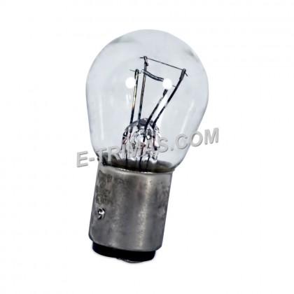 7528 Osram ORIGINAL S25 P21/5W BAY15D Proton Brake Light Bulb 1016 (2PCS)