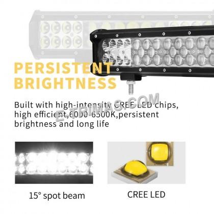 SUPER FOCUS 8 LED 12-60V 5D Work Lamp Sport Fog Light 12V 24V