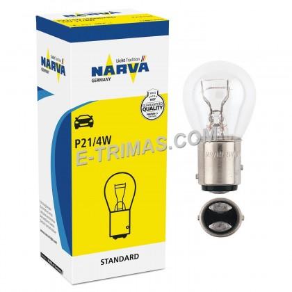 17881 Narva ORIGINAL BAZ15d Mercedes Stop Brake Light Tail Lamp Bulb 1016 (2PCS)