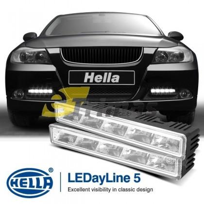 Genuine HELLA LEDayline 5 Daytime Running Lights 12V DRL LED Complete Kit