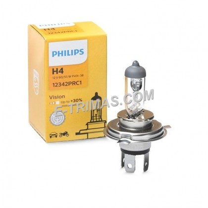 12342PR Philips H4 Automotive Lighting Headlamp Bulb 3200K