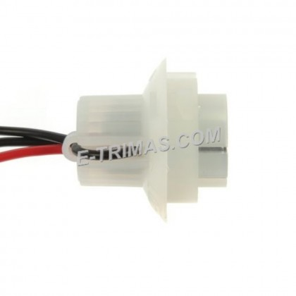 1016 1157 Twist Bulb Holder Socket Connector Wire Harness BAY15d (5PCS)