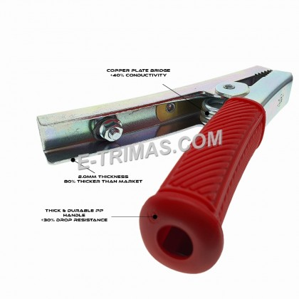 400Amp Battery Clip For DIY Heavy Duty Jump Start Cable