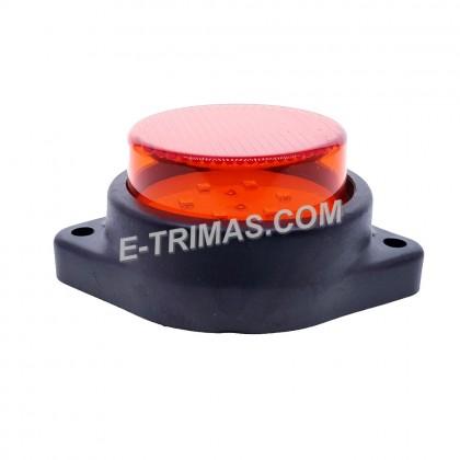 "2"" LED Side Mini Marker Indicator Lights Rear Lamp Tail Light Isuzu 12V 24V"