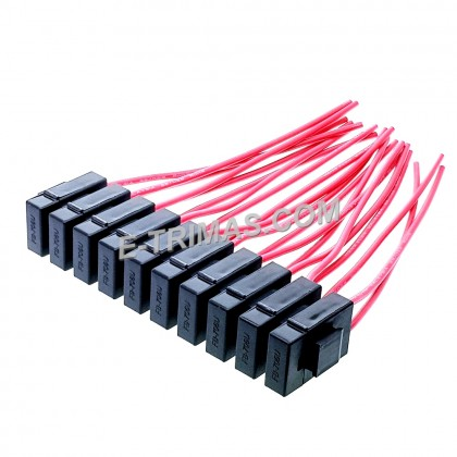 HX-3721 ATO ATC Blade Fuse Holder Interlocking Plug In Type (5PCS)