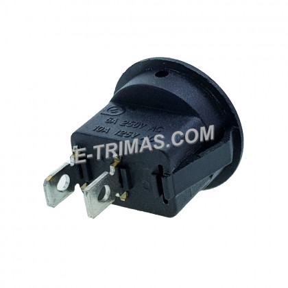 2 Pin Snap In On Off Round Boat Rocker Switch (2PCS)