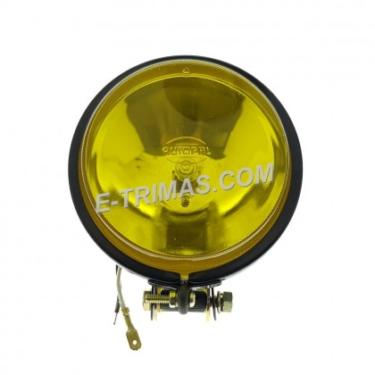 4 Inch Car Lorry Truck 4WD Driving Sport Light Fog Lamp H3 Bulb (2PCS)