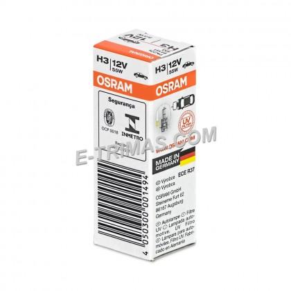 64151 ORIGINAL Osram Bulb H3 55W 12V GENUINE Sport Light Car Lamp (1PC)