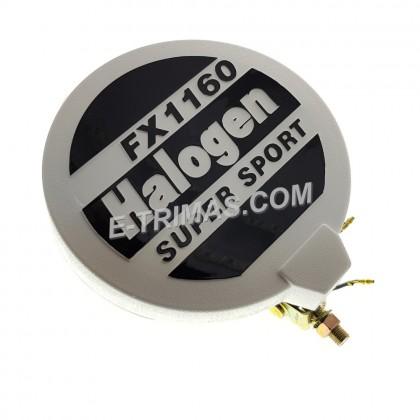 6 Inch Super Sport Halogen Spot Light Fog Lamp Bulb White Yellow 12V FX1160