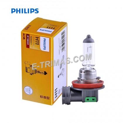 Genuine Original Philips H11 Head Light Fog Lamp Halogen Bulb Toyota Vios