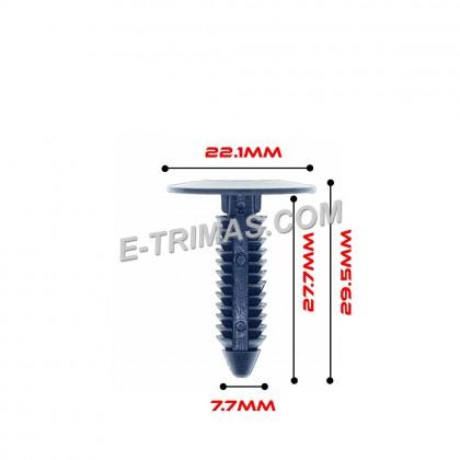 Chrysler Engine Cover Insulator Trunk Trim Rivet Retainer Car Body Clip (5PCS)