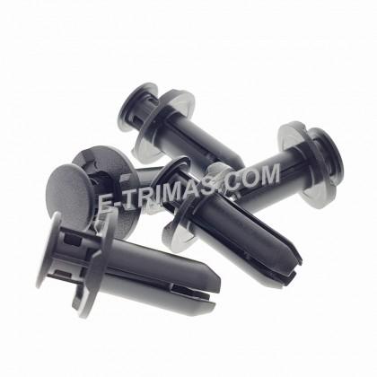Honda Side Skirting Guard Push Retainer Car Body Clip (5PCS)