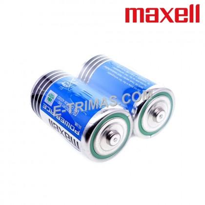 Maxell Japan Power Ace Heavy Duty D Type Battery (2PCS)